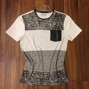 Guess women's Color Block T- Shirt